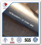 Tubo ferrítico inconsútil del Aleación-Acero de ASTM A335 P11 para el servicio de alta temperatura