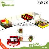 Populärer weicher grosser Handelstrampoline-Park für Verkaufs-Innenhandelstrampoline-Park