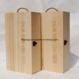 포도 수확 장식적인 장방형은 주문을 받아서 만들어진 나무 상자를 인쇄했다