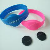 RFIDはコンサートのための輪ゴムに付ける