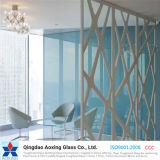 Vidro de flutuador da cor para a divisória de vidro/vidro decorativo