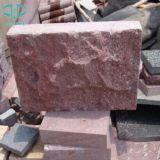 Porfido rosso, colore rosso di Shouning, pietra per lastricati rossa, pietra del ciottolo