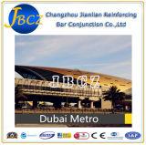 Rebar конструкционных материалов стальной усиливая механически соединение