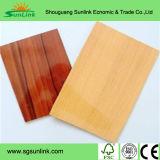 MDF de madera de la melamina del grano para los muebles