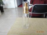 美しい香水のガラスビン、魚の形の香水瓶