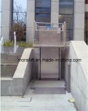 Система вертикальной кресло-коляскы поднимаясь для напольного и крытого