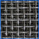 電流を通された鋼鉄によってひだを付けられる金網
