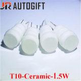 Светодиодные лампы 1.5W керамические T10 194 168 W5w Car габаритного света