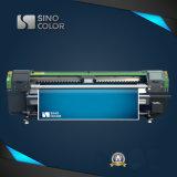 Sinocolor 3.2mのRuv3204大きいフォーマットのRicohヘッドEcoの紫外線プリンター