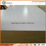 堅材のコア18mmキャビネットのための白いメラミン合板