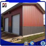貯蔵倉の金属のガレージのためのプレハブの鉄骨構造の家