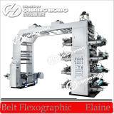 Máquina de cuatro colores bolsa de plástico de impresión flexográfica