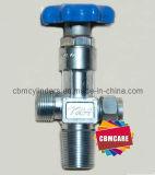 Valvola CGA-540C dell'ossigeno placcata bicromato di potassio