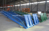 Almacén de aprobación CE de la rampa del muelle de carga de contenedores hidráulicos