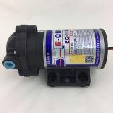 역삼투 방식 Ec103가 E 첸 격막 RO 승압기 펌프에 의하여 150 Gpd 1.4 L/M 집으로 돌아온다