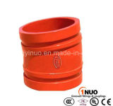 FM/UL/Ce Approval를 가진 연성이 있는 Iron Grooved Fitting 11.25 Degree Elbow
