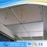 Tuile gravée en relief de plafond de tuile/gypse de plafond de gypse de PVC