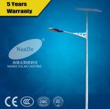 (ND-R37) Produto fotovoltaico Luzes de rua solares para venda