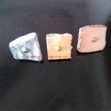 家具のノブまたは引出しのノブの/Cabinetの暗い灰色の石造りのノブ