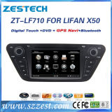 DVD-плеер автомобиля для Lifan X50 с экраном касания 7 дюймов