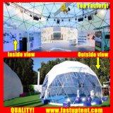 Claro Proveedor de PVC blanco transparente cúpula Geo Fastup tienda