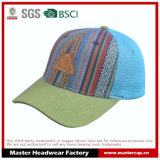 Capa ajustável de chapéu de Basebll de 6 painéis com logotipo em relevo