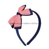 Comercio al por mayor accesorios para el pelo Niña Diadema Ribbon Bow Hairbands Cabello