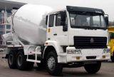 販売のためのHOWOの組合せの輸送のトラックの具体的なミキサーのトラック機械