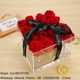 透過ルーサイトの花の包装ボックス