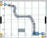 고무 호스에 사용되는 자동차 부속 공구를 가공하는 CNC