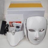 7 цветов светодиодный индикатор на лице маску с шеи PDT фотонного терапии красоты оборудование