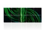 Pittura di parete astratta del metallo del Green River per la decorazione domestica (CHB6015029)