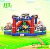 フットボールの試合の弾力があるスライドの城の跳躍の家膨脹可能なFuncity