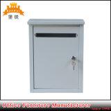 Amerikanischer Kasten-Postkasten-Gussaluminium-Wand-Mailbox des Pfosten-EAS-119