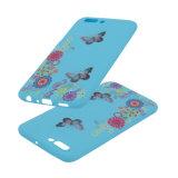 Cassa mobile del telefono degli accessori della farfalla TPU di stampa