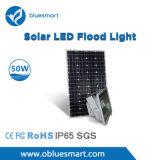 50W luz de calle solar del sensor LED
