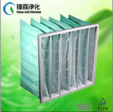 F6 Filtro de bolso sintético cor verde de Mídia