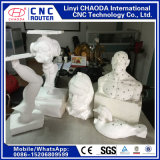 Graveur de CNC pour les grandes sculptures en bois de mousse, figures, les animaux