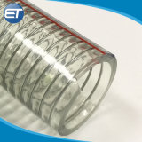 Draad van het Staal van pvc de Plastic Spiraalvormige versterkte de Flexibele LandbouwPijp van de Slang van de Irrigatie van het Water