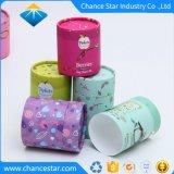 Paquete de regalo personalizado telescopio tubo de papel Papel Top