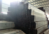Pipa de acero cuadrada galvanizada de la INMERSIÓN caliente ERW (Q235-Q345)