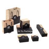 Ювелирные изделия подарка цвета сини неба ручной работы установленная упаковывая коробка