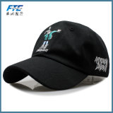 Stickerei bedeckt Vati-Hut-Baumwollbaseballmütze mit einer Kappe