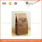 Populares biodegradables de calidad bolsa de papel Kraft Food Grade