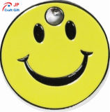 Kundenspezifische Lächeln-Gesichts-Form-Zink-Legierung Keychain