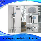 Acessórios de banho cobre/Conjunto de chuveiro de mão de aço inoxidável