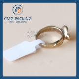 Tag de prix de l'anneau adhésif pliable à l'eau blanche (CMG-STR-010)