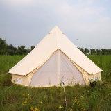 Tenda di alluminio del Palo Bell della tela di canapa di lusso resistente per il festival