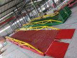 Rampe di caricamento idrauliche del carrello elevatore del contenitore per il magazzino
