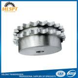 التجويف النهائي C45 أو العجلة المسننة لسلسلة البكرات من الفولاذ المقاوم للصدأ
